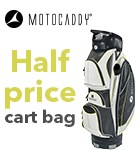 Half price Motocaddy bag offer
