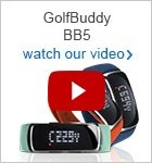 GolfBuddy BB5 GPS wristband