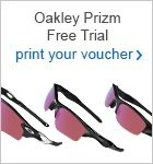 Oakley Prizm eyewearFREE 18 hole trial