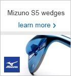 Mizuno S5 wedge range