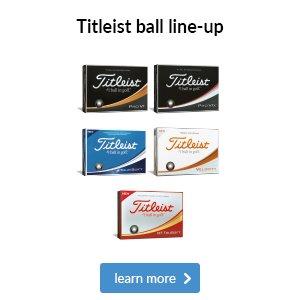 Titleist Ball Line Up 2018
